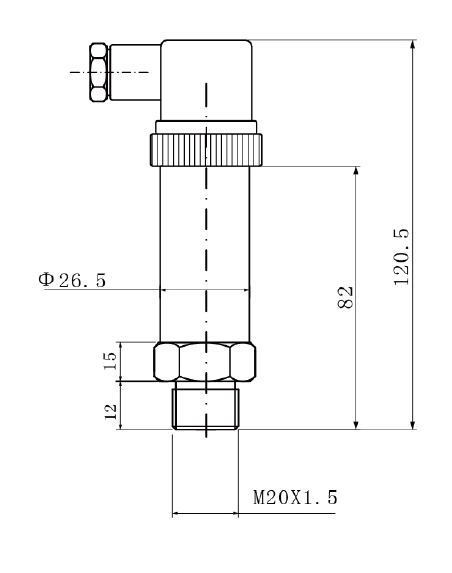 t25隔膜型压力变送器,可直接安装在测量